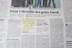 Westfalenpost: Schul-T-Shirts für den guten Zweck