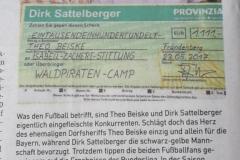Dirk Sattelberger spendet