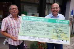 Provinizal Sattelberger spendet
