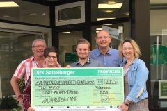 Spendenknaller Juni: Dirk Sattelberger (Provinzial)